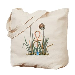 Solstice Ankh Tote Bag