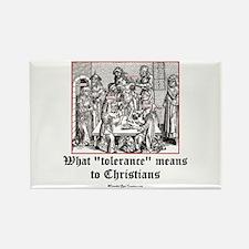 Christian Tolerance Rectangle Magnet
