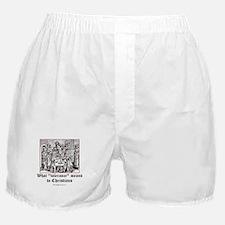 Christian Tolerance Boxer Shorts