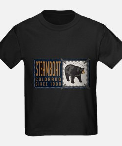 Steamboat Black Bear Badge T