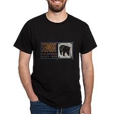 Steamboat Black Bear Badge T-Shirt