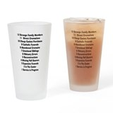Funeral director Pint Glasses