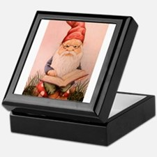 Literary Gnome Keepsake Box
