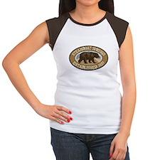 Steamboat Springs Brown Bear Badge Women's Cap Sle