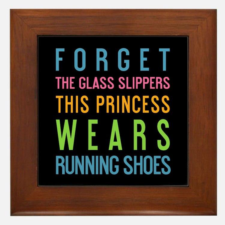Cute Princess sayings Framed Tile