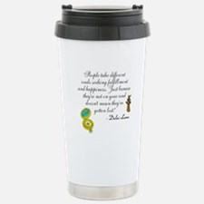 Not Lost Stainless Steel Travel Mug