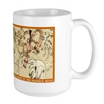 LORD PAKAL'S BIRTH Large Mug