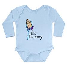 The Rosary Long Sleeve Infant Bodysuit