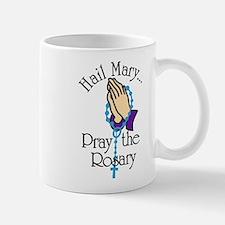 Pray The Rosary Small Small Mug