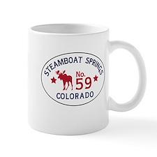 Steamboat Springs Moose Badge Mug