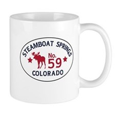 Steamboat Springs Moose Badge Mug