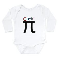 2-CutiePi.png Long Sleeve Infant Bodysuit