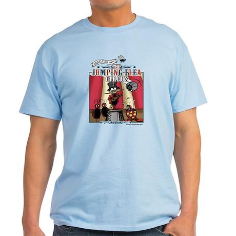 The Jumping Flea Circus Light T-Shirt