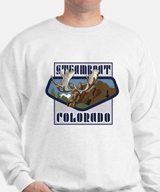 Steamboat Mountaintop Moose Sweater