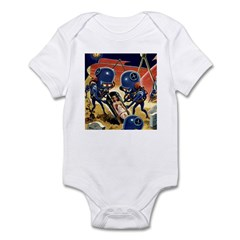 Harvesting the Dead Infant Bodysuit