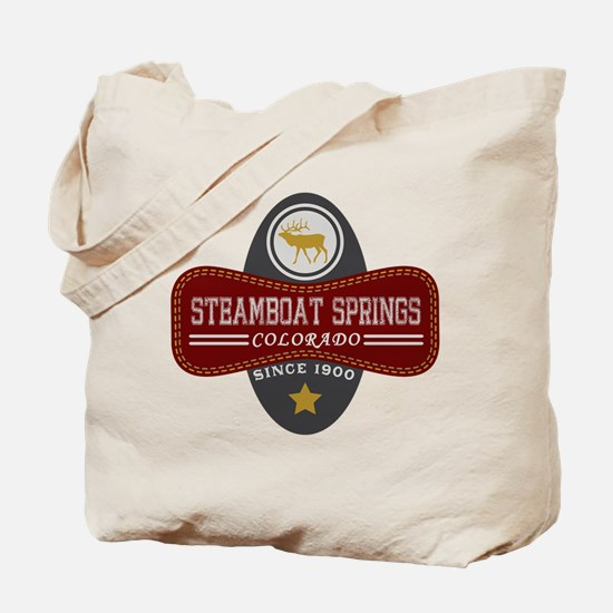 Steamboat Springs Natural Marquis Tote Bag