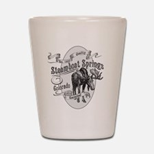 Steamboat Springs Vintage Moose Shot Glass