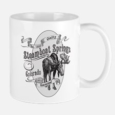 Steamboat Springs Vintage Moose Mug