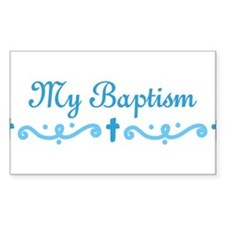 My Baptism Decal