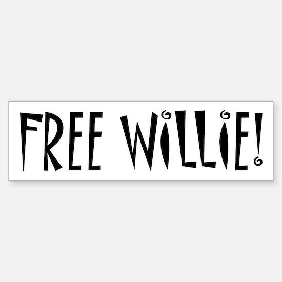 FREE WILLIE NELSON Bumper Bumper Bumper Sticker