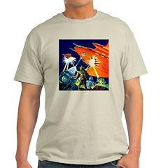 Invasion of the Micro-Men Ash Grey T-Shirt