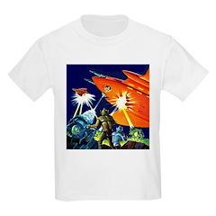 Invasion of the Micro-Men Kids T-Shirt