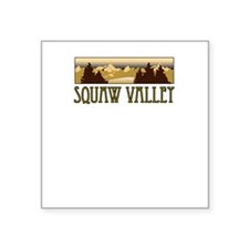 squaw valley ski resort truck stop novelty tee Squ