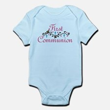 First Commuinion Infant Bodysuit