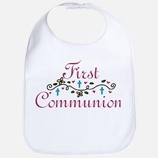 First Commuinion Bib
