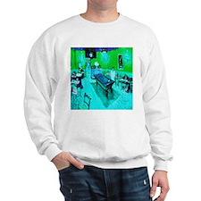 Night Cafe Blue Ice Sweatshirt
