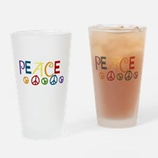 Peace Drinking Glass