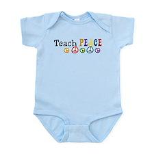 Teach Peace Infant Bodysuit