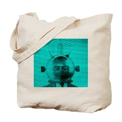 The Man From Mars Tote Bag
