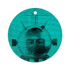 The Man From Mars Ornament (Round)
