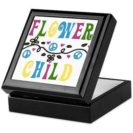 Flower Child Keepsake Box