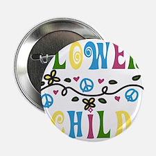 """Flower Child 2.25"""" Button"""