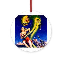 Monster Mash Ornament (Round)