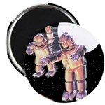 Moon Invaders Magnet