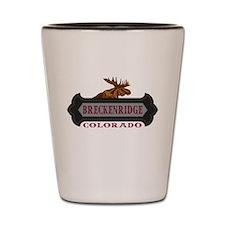 Breckenridge Fleur de Moose Shot Glass