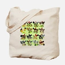 16 Chicken Families Tote Bag
