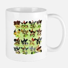 16 Chicken Families Small Small Mug