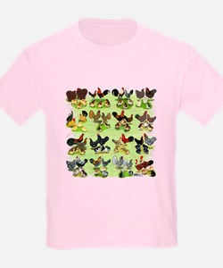16 Chicken Families T-Shirt