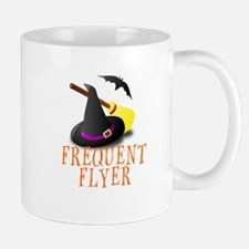 HALLOWEEN WITCH: FREQUENT FLYER Mugs