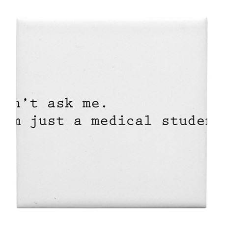 Don't ask me. I'm just a medical student. Tile Coa
