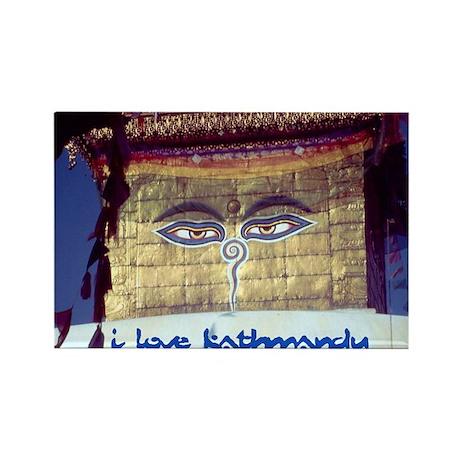 Kathmandu Rectangle Magnet