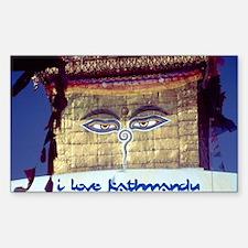 Kathmandu Rectangle Decal