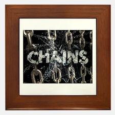 Chains Framed Tile