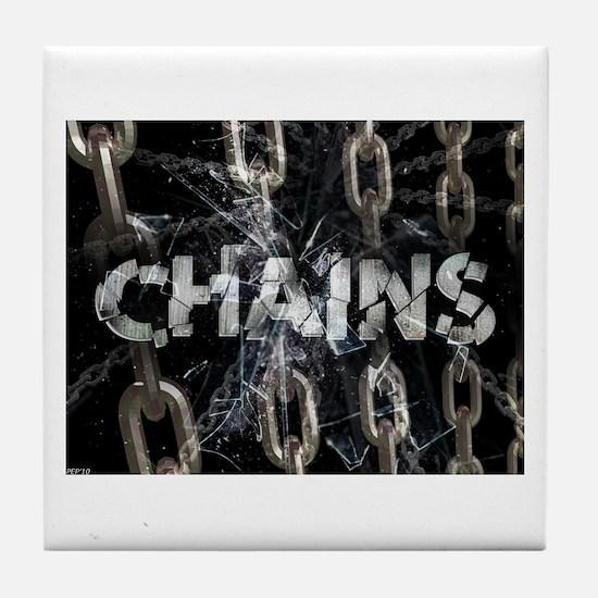 Chains Tile Coaster