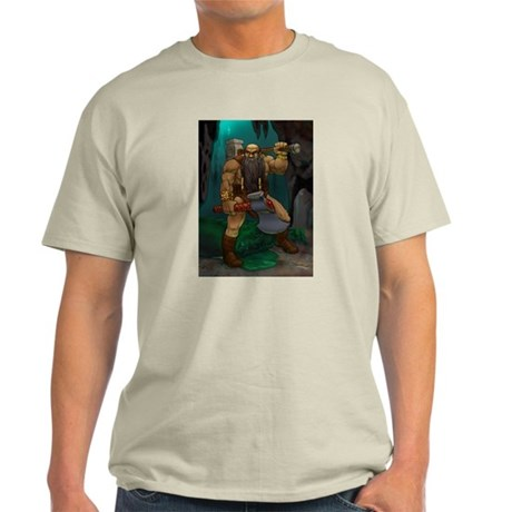 Dwarven Adventurer Light T-Shirt
