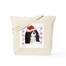 Toy Spaniel Paws Tote Bag